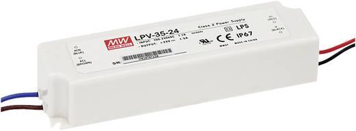 LED-Treiber Konstantspannung Mean Well LPV-35-15 36 W (max) 0 - 2.4 A 15 V/DC dimmbar