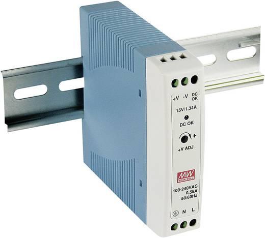 Hutschienen-Netzteil (DIN-Rail) Mean Well MDR-20-5 5 V/DC 3 A 15 W 1 x