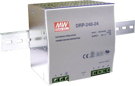 Hutschienen-Netzteil (DIN-Rail) Mean Well DRP-240-48 48 V/DC 5 A 240 W 1 x
