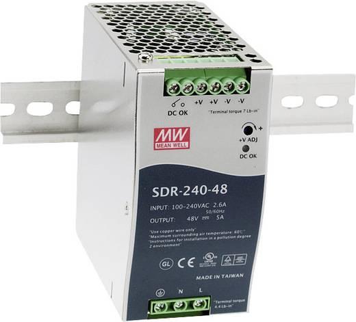 Hutschienen-Netzteil (DIN-Rail) Mean Well SDR-240-24 24 V/DC 10 A 240 W 1 x