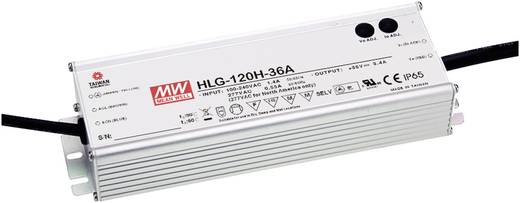 LED-Treiber, LED-Trafo Konstantspannung, Konstantstrom Mean Well HLG-120H-24B 120 W (max) 5 A 12 - 24 V/DC Überlastschut