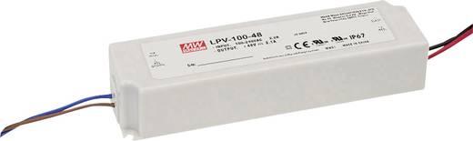 LED-Trafo Konstantspannung Mean Well LPV-100-48 100 W 0 - 2.1 A 48 V/DC PFC-Schaltkreis, Überlastschutz