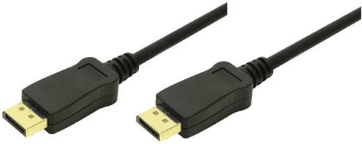 DisplayPort Anschlusskabel [1x DisplayPort Stecker - 1x DisplayPort Stecker] 10 m Schwarz LogiLink