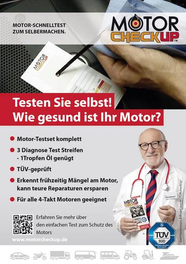 Schnelltest für Motoren MOTORcheckUP 10296