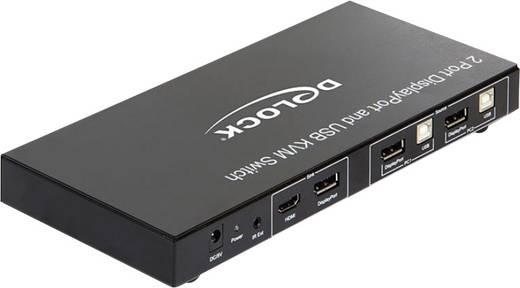 2 Port KVM-Umschalter Display-Port USB 1920 x 1080 Pixel 11367 Delock