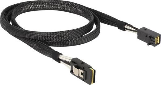 Festplatten Anschlusskabel [1x Mini-SAS-Stecker (SFF-8643) - 1x Mini-SAS-Buchse (SFF-8087)] 1 m Schwarz Delock