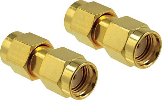 WLAN-Antennen Adapter [1x RP-SMA-Stecker - 1x RP-SMA-Stecker] 0 m Gold Delock