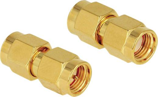 WLAN-Antennen Adapter [1x RP-SMA-Stecker - 1x SMA-Stecker] 0 m Gold Delock