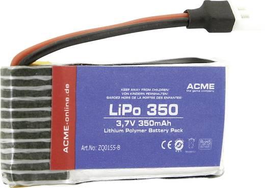 Modellbau-Akkupack (LiPo) 3.7 V 350 mAh Zellen-Zahl: 1 ACME Flachstecker
