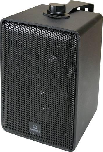 Renkforce RL100W BK Regallautsprecher Schwarz 100 W 90 bis 20000 Hz 1 Paar
