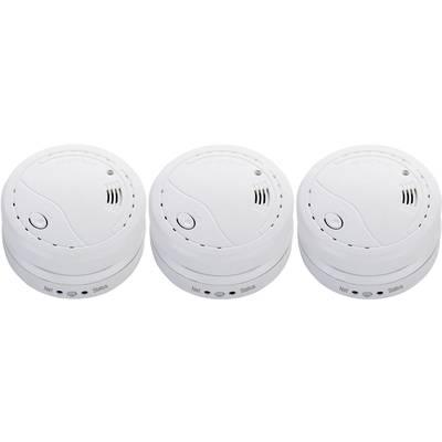 Cordes Haussicherheit CC-70 Funk-Rauchwarnmelder 3er Set vernetzbar batteriebetrieben Preisvergleich