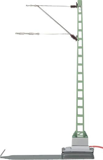 H0 Anschlussmast H0 Märklin C-Gleis (mit Bettung), H0 Märklin K-Gleis (ohne Bettung) Märklin 074121 1 St.