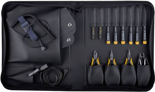 Profi Werkzeugset in Tasche 12teilig Bernstein ANTISTATIC 2220