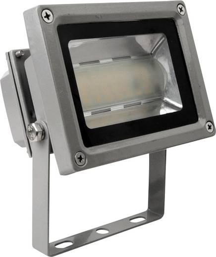 LED-Außenstrahler 12 W Kalt-Weiß Megatron Tott MT69254 Silber