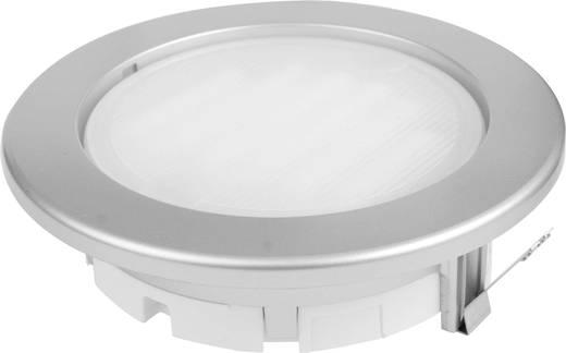 Einbauring Energiesparlampe GX53 9 W Megatron MT76350 Planex Edelstahl (gebürstet)