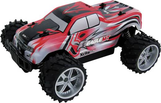 XciteRC Eagle Brushed 1:16 RC Modellauto Elektro Monstertruck Heckantrieb 100% RtR 2,4 GHz