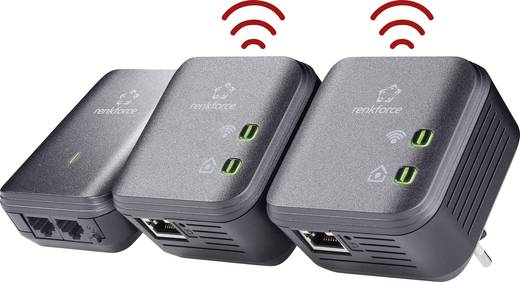 Powerline WLAN Network Kit 500 MBit/s Renkforce PL500D WiFi