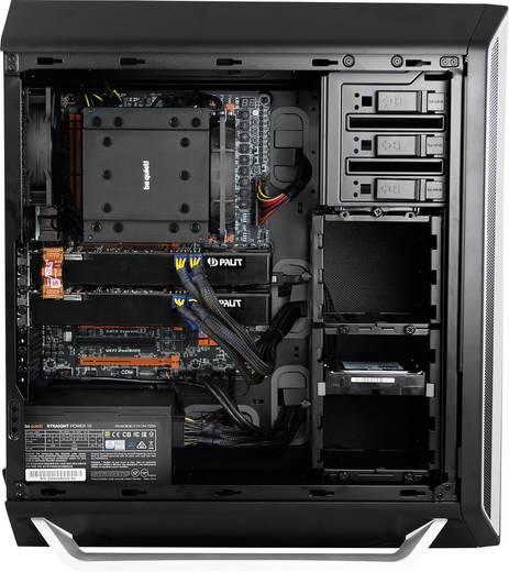Midi-Tower PC-Gehäuse, Gaming-Gehäuse BeQuiet Silent Base 800 Silver Silber, Schwarz