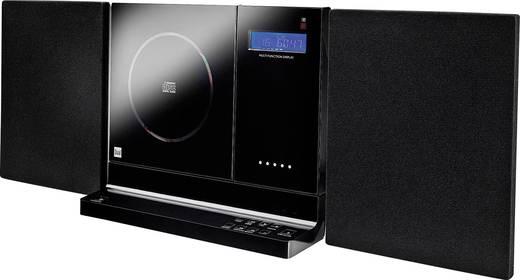 Dual Vertical 200 Stereoanlage AUX, CD, SD, UKW, USB, Wandmontage 2 x 5 W Schwarz