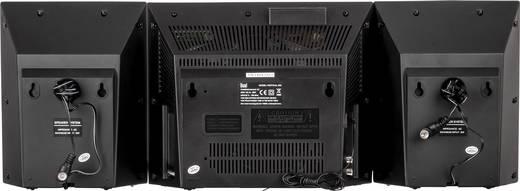 Stereoanlage Dual Vertical 200 AUX, CD, SD, UKW, USB, Wandmontage 2 x 5 W Schwarz