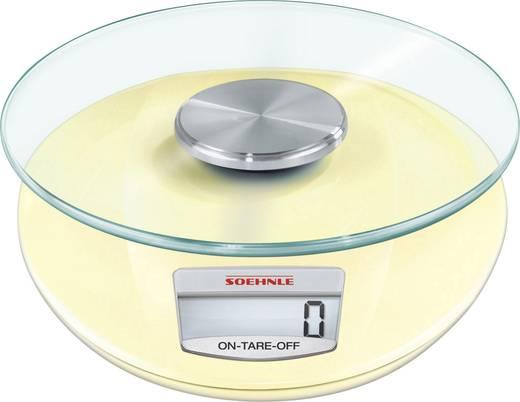Digitale Küchenwaage digital Soehnle Roma Wägebereich (max.)=5 kg Pastell-Gelb