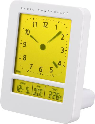 Funk Wecker Renkforce KW-9270 Weiß Alarmzeiten 2