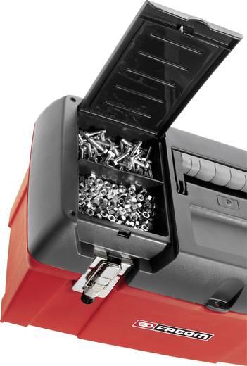 Werkzeugkasten unbestückt Facom BP.C24 Kunststoff Rot, Schwarz