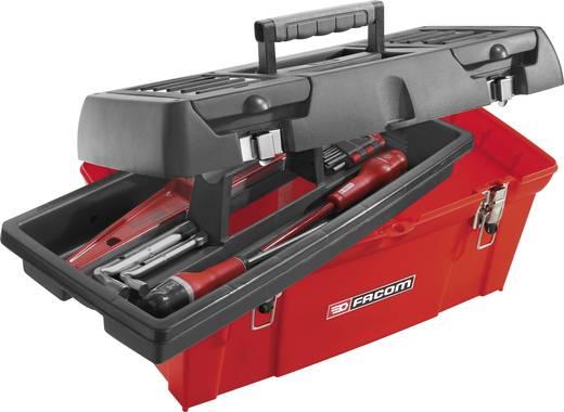 Werkzeugkasten unbestückt Facom BP.C19 Kunststoff Rot, Schwarz