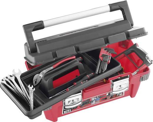 Werkzeugkasten unbestückt Facom BP.P20 Polypropylen Rot, Schwarz