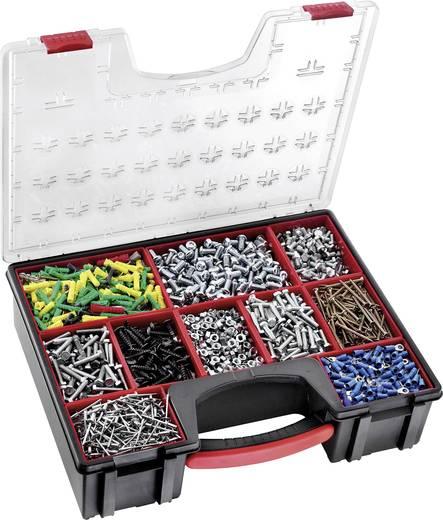 Werkzeugkasten unbestückt Facom BP.Z8PB Polycarbonat Schwarz, Rot