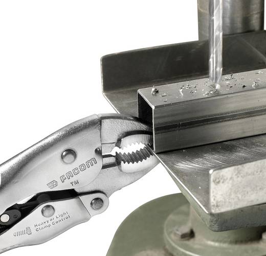 Gripzange Halbrund 0 - 30 mm 150 mm Facom 580.6PB
