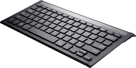 Bluetooth-Tastatur Perixx Periboard-804II B Schwarz Wiederaufladbar