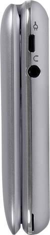 doro PhoneEasy 613 Senioren-Klapp-Handy Silber