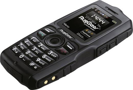 RugGear RG100 Outdoor-Handy, Schwarz, IP-68, MIL 810G
