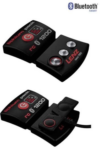 Heizsocken 35 bis 38 Lenz set lithium pack rcB 1200 + heat sock 1.0 unisex Schwarz/Rot 1510-3538