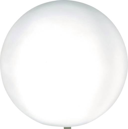 gartenleuchte kugel led energiesparlampe e27 15 w heitronic mundan 35952 wei. Black Bedroom Furniture Sets. Home Design Ideas