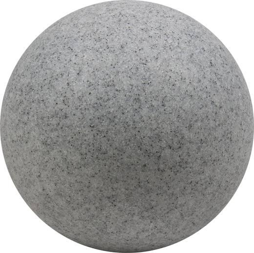 Gartenleuchte Kugel LED, Energiesparlampe E27 9 W Heitronic Mundan 35956 Granit-Grau (matt)