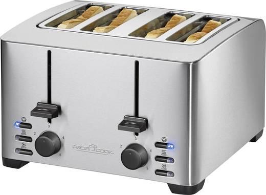 Toaster mit Brötchenaufsatz Profi Cook PC-TA 1073 Edelstahl