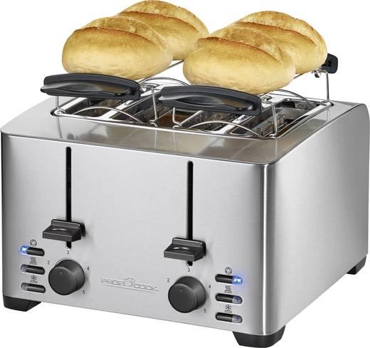 toaster mit br tchenaufsatz profi cook pc ta 1073 edelstahl kaufen. Black Bedroom Furniture Sets. Home Design Ideas