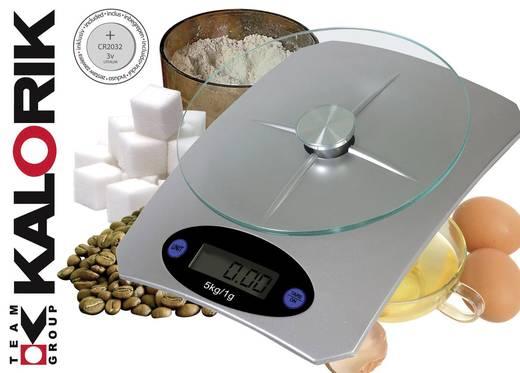 Küchenwaage digital TKG Team Kalorik TKG EKS 1003 Wägebereich (max.)=5 kg Silber