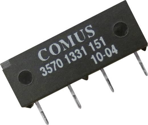 Reed-Relais 1 Schließer 12 V/DC 0.5 A 10 W SIP-4 Comus 3570-1331-121