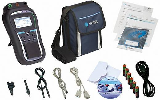 Metrel MI 3309BT VDE-Prüfgerät VDE 0701-0702 Geräteprüfer Kalibriert nach ISO
