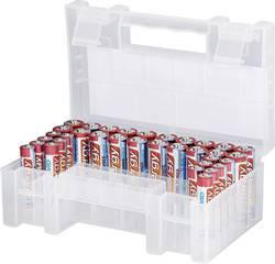 Conrad energy Lot de piles LR03, LR6 34 pc(s) avec boîte