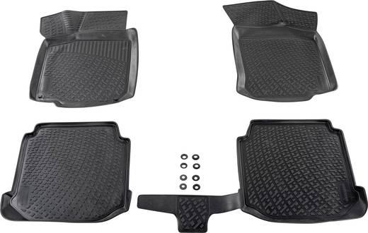 Fußmatte (fahrzeugspezifisch) Audi A3 TPE (Geruchneutrales Spezialgummigemisch) Schwarz DINO 136003
