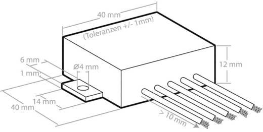 Mono-Verstärker Baustein Kemo M031N 5 V/DC, 6 V/DC, 9 V/DC, 12 V/DC 3.5 W