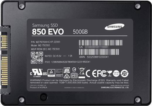 Samsung 850 EVO Interne SSD 6.35 cm (2.5 Zoll) 500 GB Retail MZ-75E500B/EU SATA III