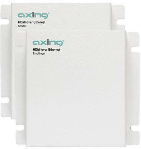 HDMI over Ethernet Receiver/Transmitter Set Axing HOE 1-00 Empfänger und Sender
