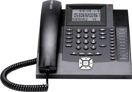 Schnurgebundenes Telefon, analog Auerswald COMfortel 600 Freisprechen, Headsetanschluss schwarz-weiß Display Schwarz