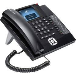 Image of Auerswald COMfortel 1400IP Systemtelefon,VoIP Freisprechen, Headsetanschluss Touch-Farbdisplay Schwarz