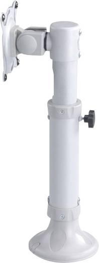 """NewStar FPMA-D025SILVER Monitor-Tischhalterung 25,4 cm (10"""") - 76,2 cm (30"""") Neigbar, Rotierbar"""